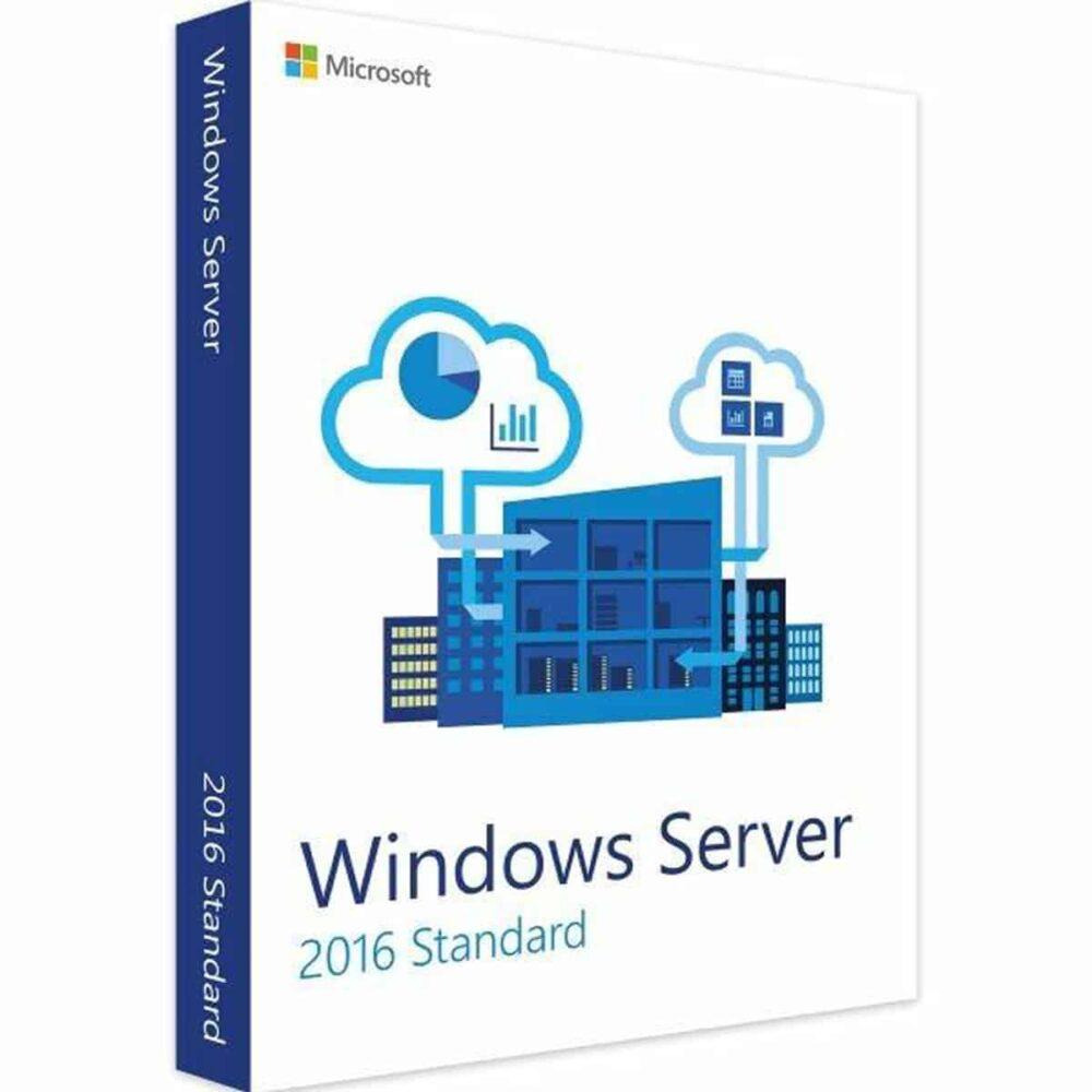Goedkope Licentie Windows Server 2016 Standaard